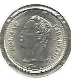 Buy Venezuela 25 Centimos 1990