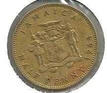 Buy Jamaica Half Penny 1964