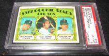 Buy 1972 Topps #79 Carlton Fisk, Cecil Cooper Boston Red Sox PSA 6