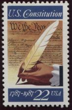 Buy 1987 22c 200th Anniversary Signing of the Constitution Stamp Mint Unused XF NH