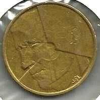 Buy Belgium 5 Francs 1986 Coin KM # 164 - BRASS COIN