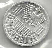 Buy 1973 Austria 10 Groshen with Eagle!