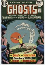 Buy GHOSTS Issue #21 Dec 1973 Good Condition DC Classic Early Glossy 20c 30512
