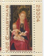 Buy 1966 5c Christmas Madonna & Child Mint, Never Hinged Plate Block Nice Look!