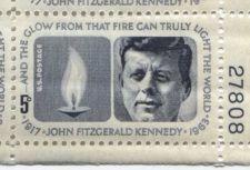 Buy 1964 5c US President Kennedy Memorial Mint, Never Hinged Plate Block Serial Nice