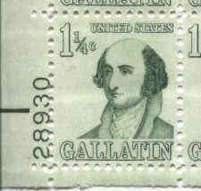 Buy 1967 1 1/4c Albert Gallatin Prominent American Series Mint Sheet Complete Stamps