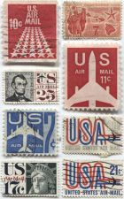 Buy Set of 8 Good Used Cancelled Air Mail 7c, 10c, 11c, 17c, 20c, 21c, 25c
