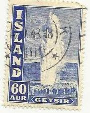 Buy Iceland 1938-47 Geysir Old used