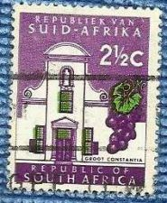 Buy South Africa QEII 1961-63 2 1/2c Groot Constantia SG202 Used