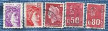 Buy France Stamp Definitives - motifs from the 5th republic