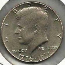 Buy US 50 Cents (Kennedy Half Dollar) 1976