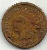 Buy US Indian Head 1890