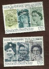 Buy The Sixtieth Birthday of Her Majesty The Queen - 1986 set of Two