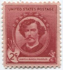 Buy 1940 2c James A. McNeill Whistler American Artist Mint Unused Unhinged Clean