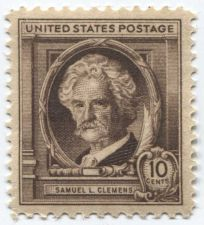 Buy 1940 10c Samuel L. Clemens American Author Mint Unused Unhinged Clean
