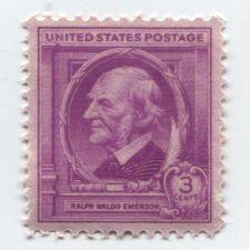 Buy 1940 3c Ralph Waldo Emerson American Author Mint Unused Unhinged Clean