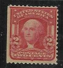 Buy US SCOTT #319 2c CARMINE WASHINGTON 1903 UNUSED