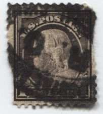 Buy 1912 $1 Dollar Ben Franklin Perf 12 Used Good Choice Rare Stamp Look!