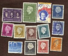 Buy Netherlands Collection of 13 USED Stamps