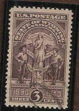 Buy U.S. Wyoming State Seal 50th Anniv. Scott 897