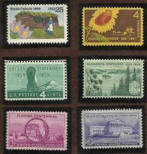 Buy US 6 Statehood Stamps