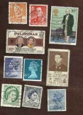 Buy Global Mix 3 Collection 10stamp Denmark Norway England Philippines Mexico & more