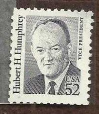 Buy US 2189A MNH OG VF 52 Cent Hubert H Humphrey Single