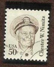 Buy US 50C Chester Nimitz, brown (6522)