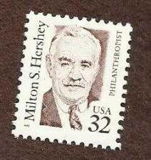 Buy US 1995 32c Milton S Hershey Scott 2933 Mint