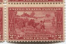 Buy 1925 2c Birth of Liberty Lexington-Concord Block of 4 Red Mint Never Hinged Rare