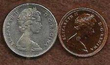 Buy Canada 1976 Nickel, 1977 Prooflike Penny