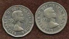 Buy Canada 1961 & 1963 Nickels