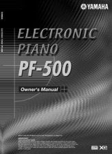 Buy Yamaha PF500E1 Operating Guide by download Mauritron #204037