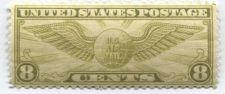 Buy 1932 8c US Airmail Winged Globe Stamp Extra Fine Mint Unused Unhinged Very nice