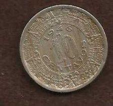Buy Mexico 10 Centavo 1946 M