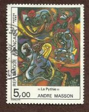 Buy France 2469 1984 André Masson paintings Andre Masson mythology Oracle