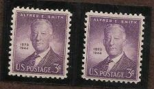 Buy US 937 Mint NH VF 3 C Alfred E. Smith Pair of stamps