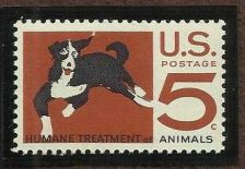 Buy 1966 5c HUMANE TREATMENT OF ANIMALS, US #1307, MNH