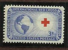 Buy US 1016 Red Cross MNH