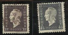 Buy France 1945 Violet Marianne Used