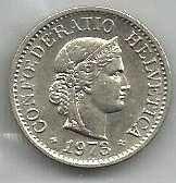 Buy Switzerland 10 Rappen 1973
