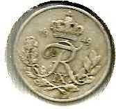Buy Denmark 10 Ore 1949