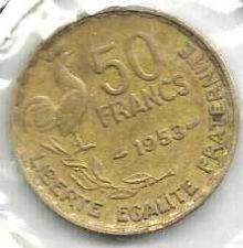 Buy FRANCE 50 Francs 1953