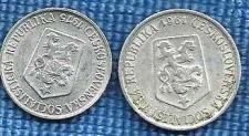 Buy 1961 Czechoslovakia 10 Haleru &1975 5 Haleru Coins