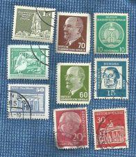 Buy Set of 9 German Democract Republic