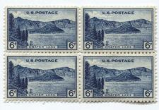 Buy 1934 6c Crater Lake National Park Block of 4 Connected Mint NH Choice of 2 Nice!