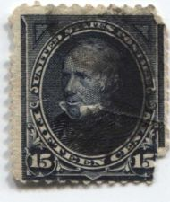 Buy 1894 15c Unwatermarked 15¢ Clay Fine Used unhinged stamp Rare! CV $75+