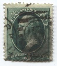 Buy 1870 3c George Washington Never Hinged Cancelled Killer Rare