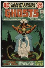 Buy GHOSTS Issue #7 Sept. 1972 Very Good Condition DC Classic Rare Comic 20c
