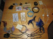 Buy Jewelry Grab Bag!! 12 Total Pieces, Very Low Starting Price!!
